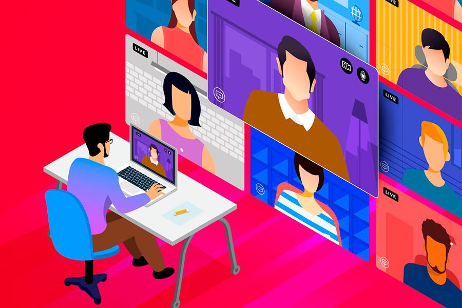 Oživte svou online schůzku kreativním pozadím